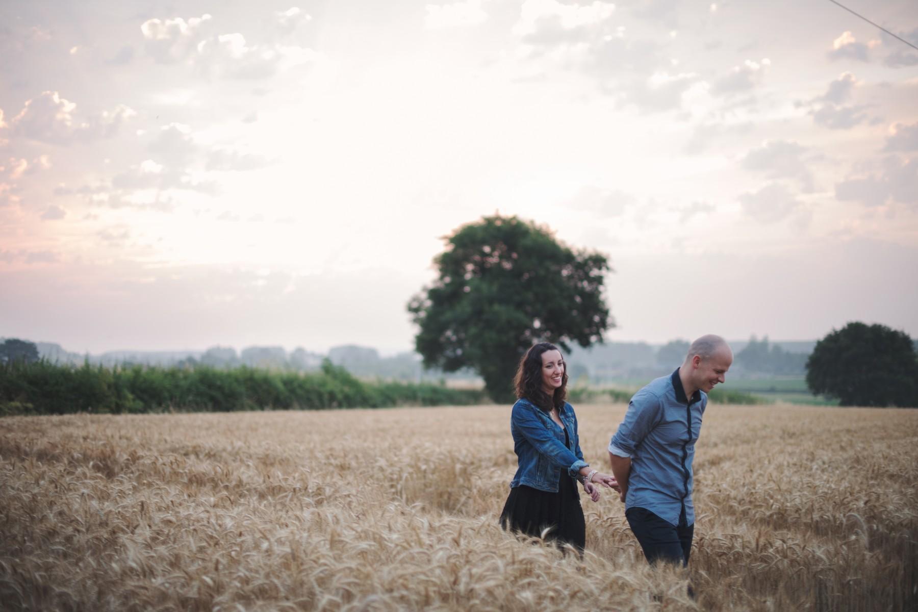 Photographe engagement Angers - Marlène et Vincent