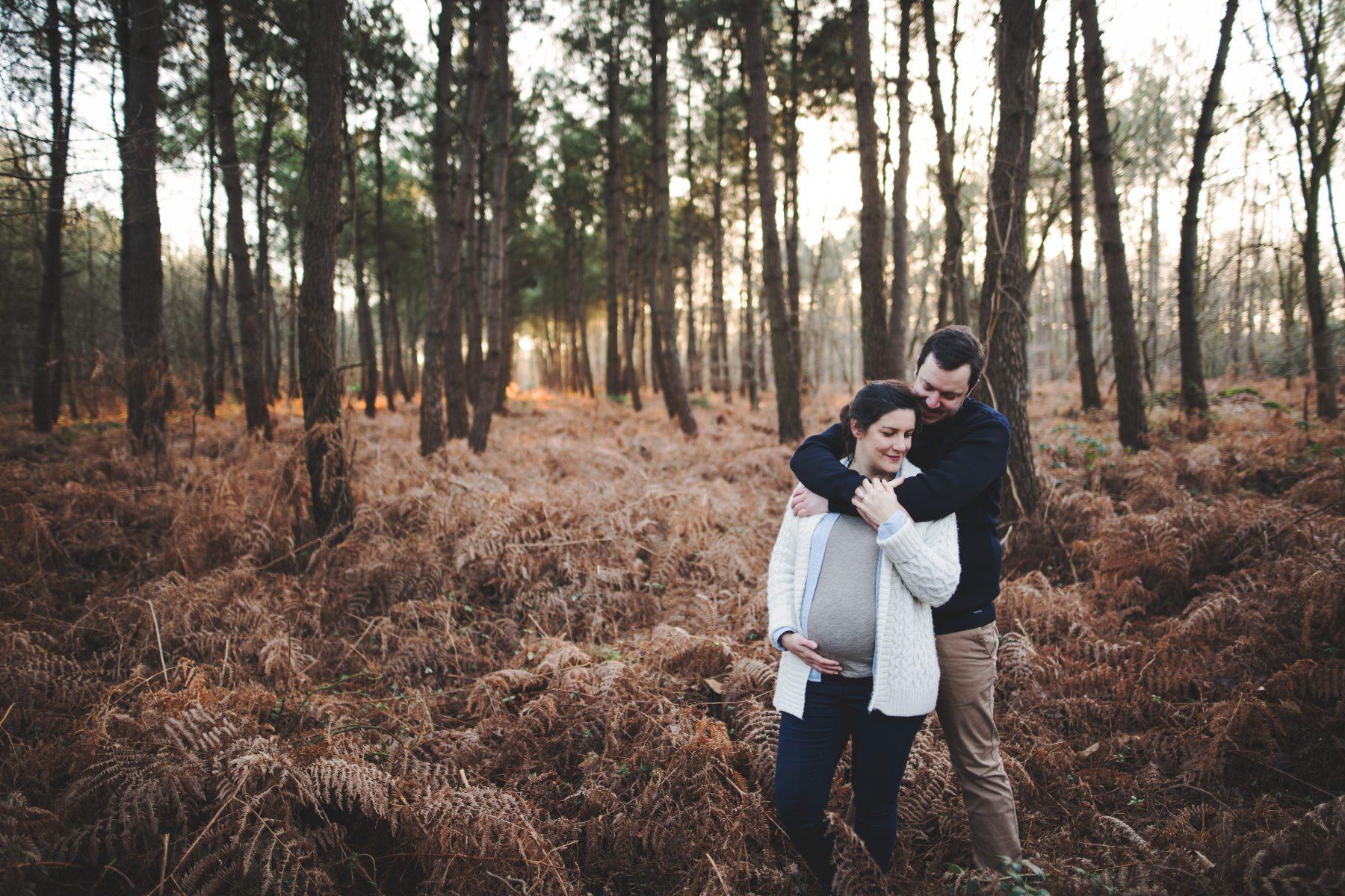 Séance engagement en Forêt - Marine et Adrien