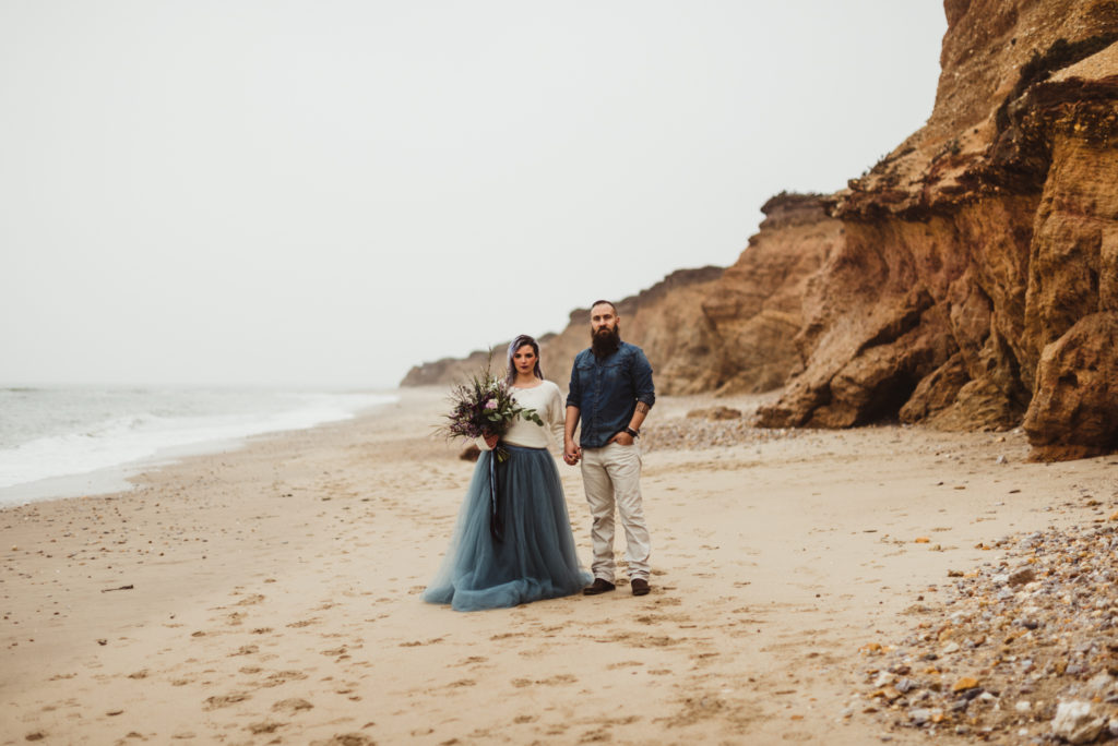 french elopement by the ocean