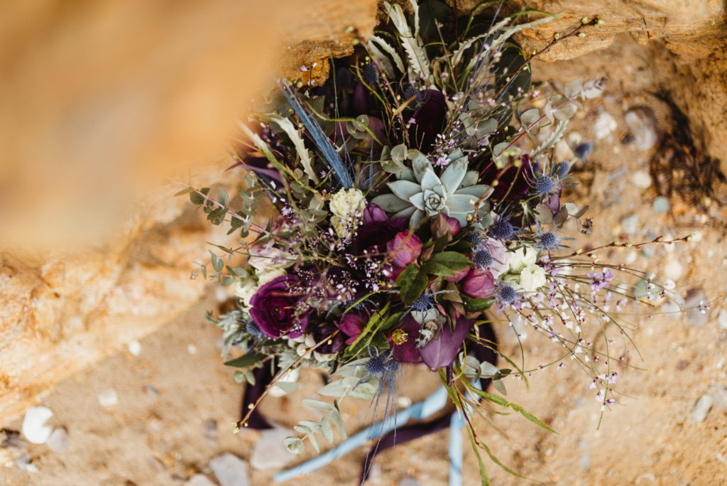 french wedding bouquet