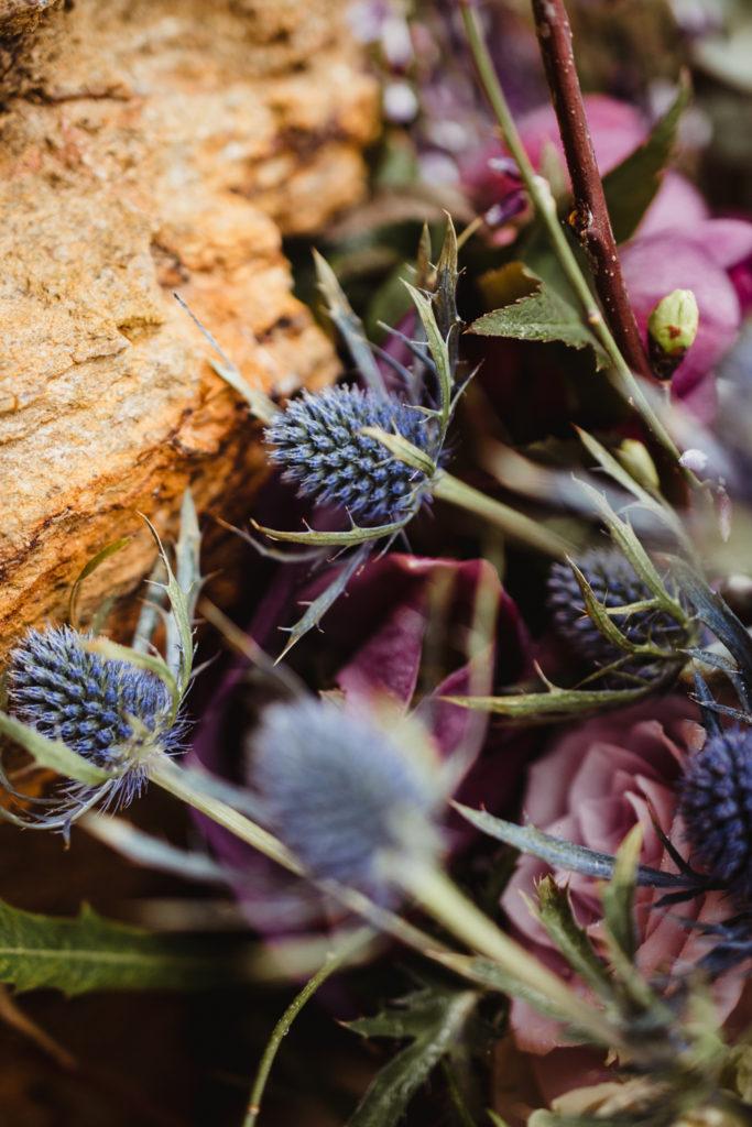 thistles bouquet