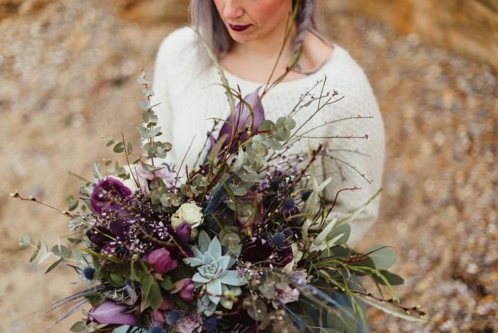 grand bouquet de mariage