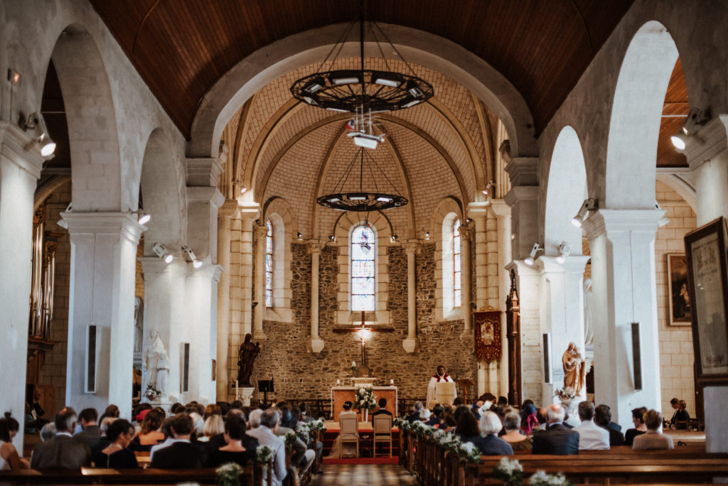 mariage église île d'yeu