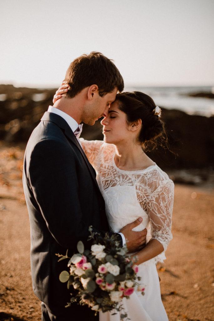 mariage sur la côte